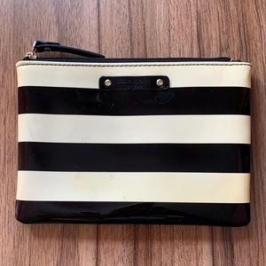 Kate Spade Striped Zip Pouch